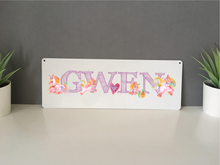 Watercolour Unicorn personalised hanging door sign - Fred And Bo