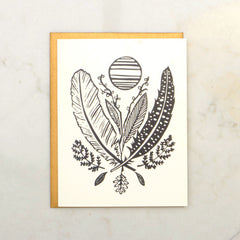 Feather & Leaf Image