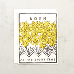 Born At The Right Time Image