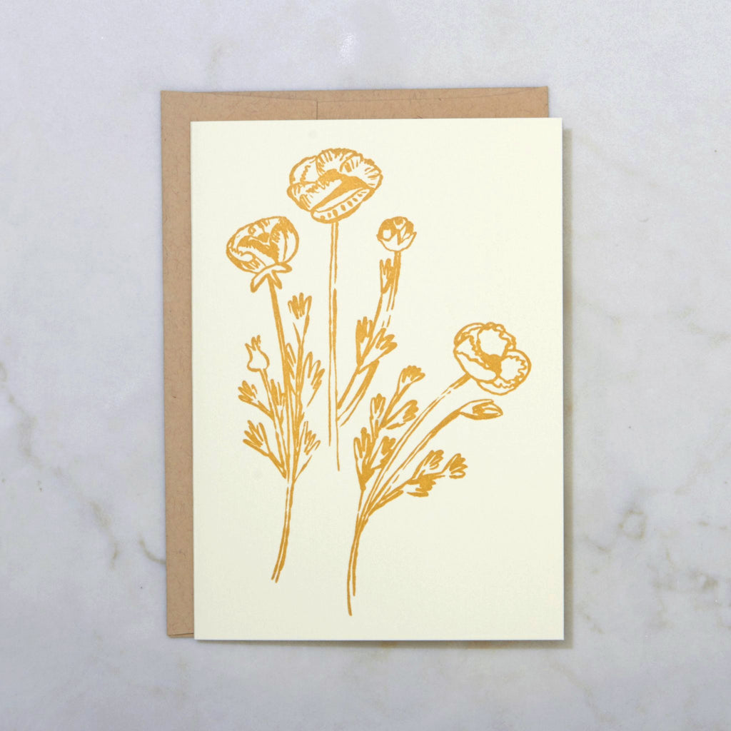 Pretty Gold Flowers - morninglight