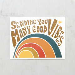 Sending You Many Good Vibes Image