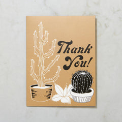 Thank You - Cactus Image