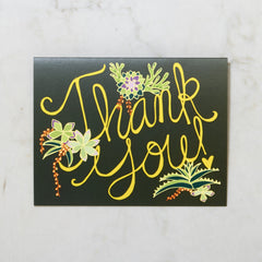 Thank You - Floral Image