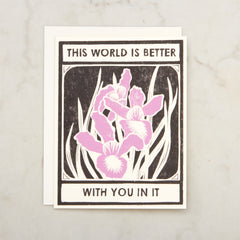 World Is Better With You Image