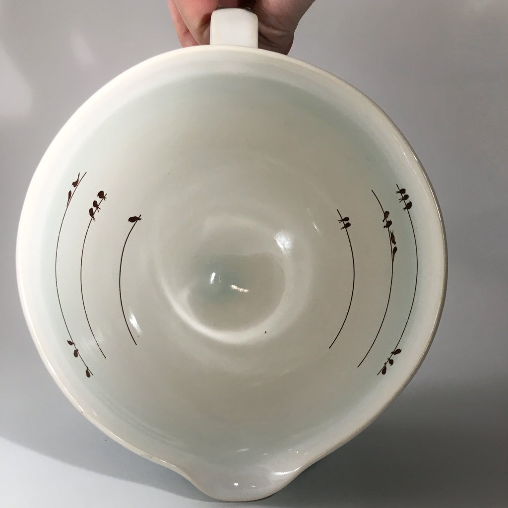 6 Cup Bird Measuring Bowl Made to Order