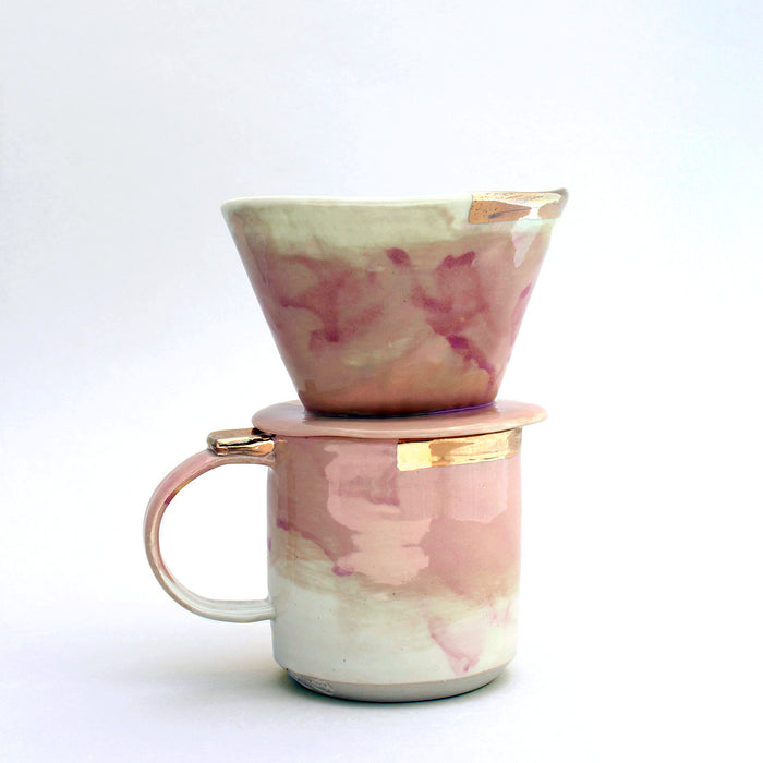 Citi Rustique Pourover Set — Conch Pink