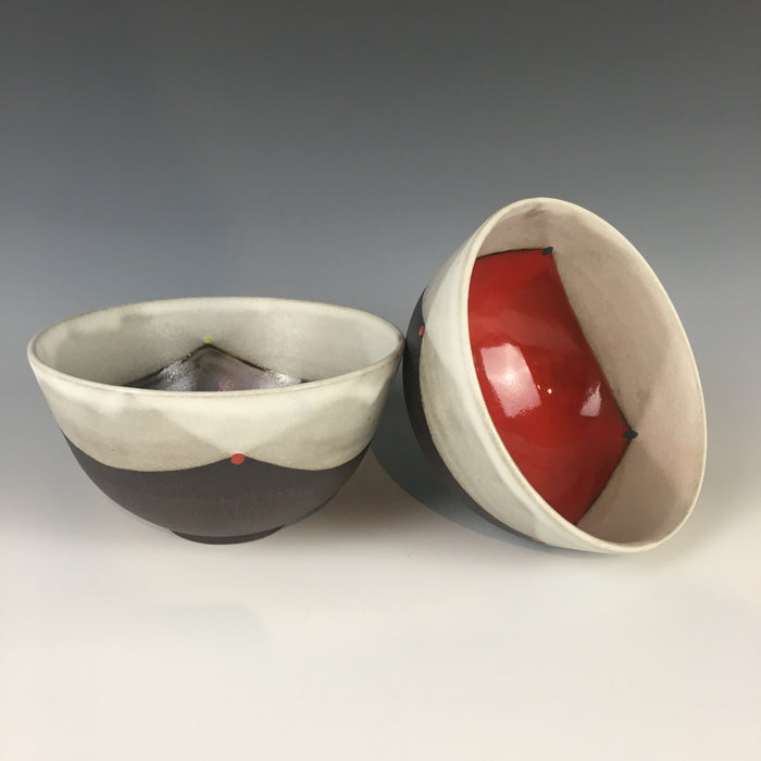 Blackware Rice / Cereal Bowl