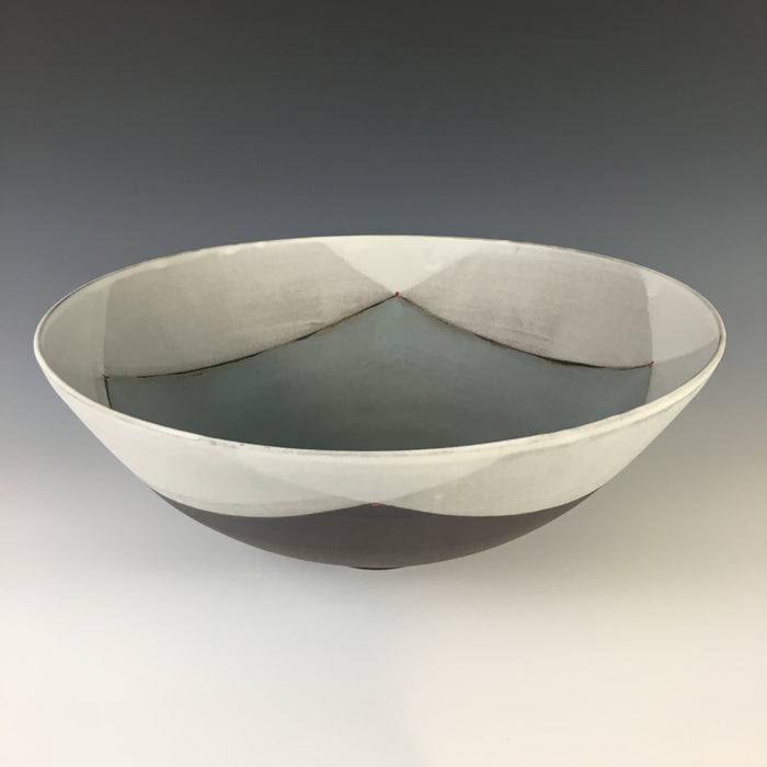 Blackware Dinner Bowl