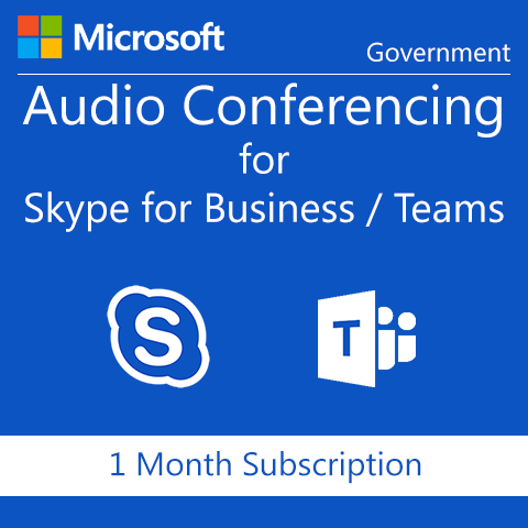 Microsoft Audio Conferencing - Government - Digital Maze