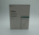 Microsoft Office Home & Business 2019 - Retail Box with Key card