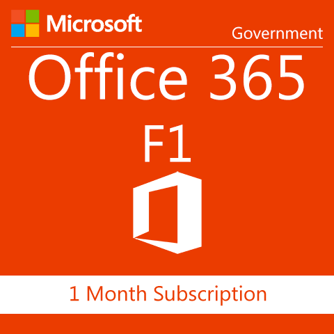 Microsoft Office 365 F1 - Government
