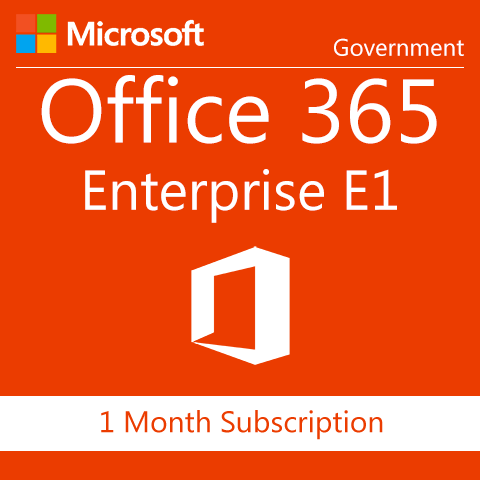 Microsoft Office 365 Enterprise E1 - Government - Digital Maze
