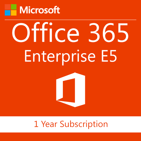 Microsoft Office 365 Enterprise E5 Without Audio Conferencing - 1 Year Subscription