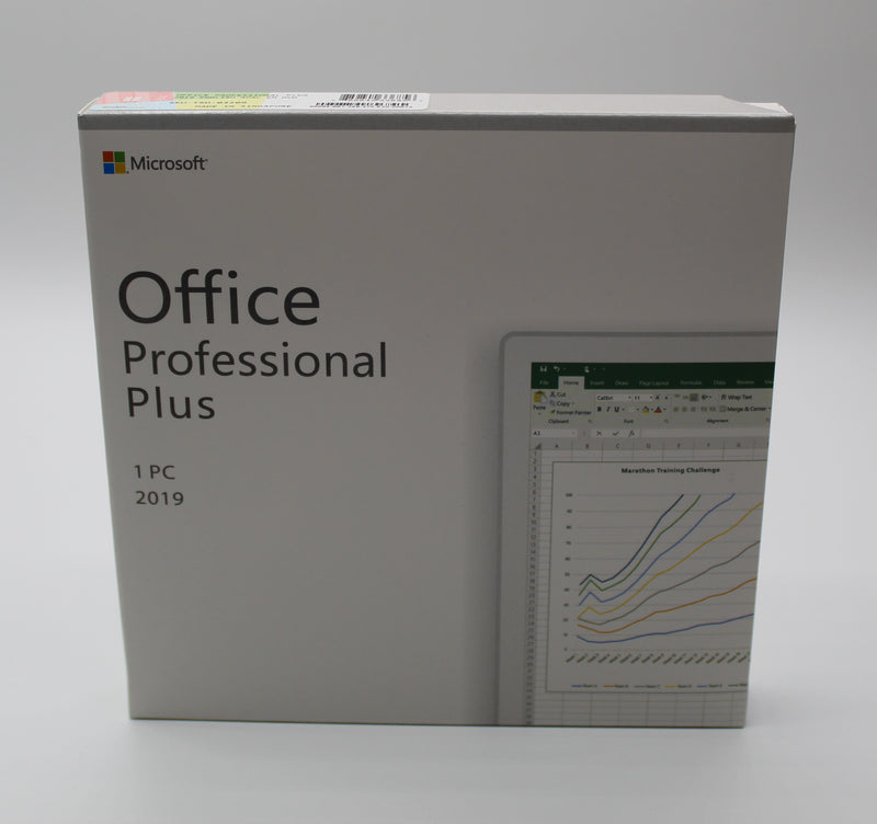 Microsoft Office Professional Plus 2019 - Box Pack - Installer disc & product key
