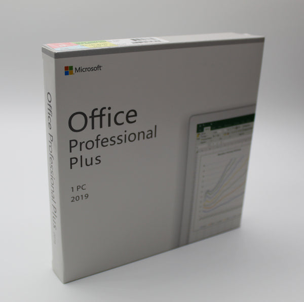 Microsoft Office Professional Plus 2019 - Box Pack - Installer DVD & product key