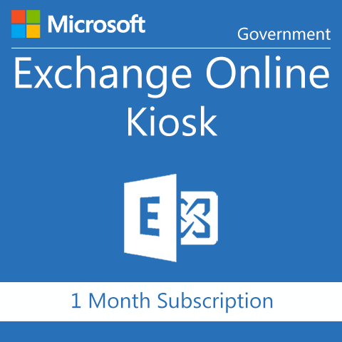 Microsoft Exchange Online Kiosk - Government - Digital Maze
