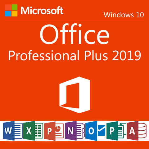 Resultado de imagen de Microsoft Office Professional Plus Version 2019