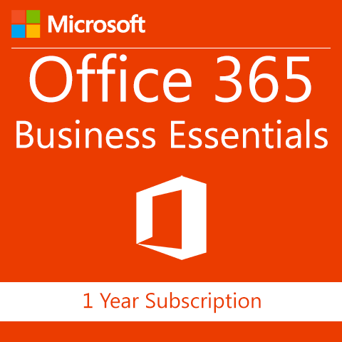 Microsoft Office 365 Business Essentials - 1 Year Subscription - Digital Maze