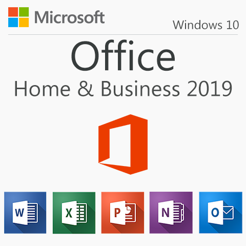 Microsoft Office Home & Business 2019 for Windows 10
