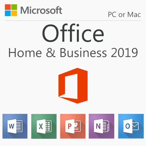 Microsoft Office Home & Business 2019 for Windows & Mac
