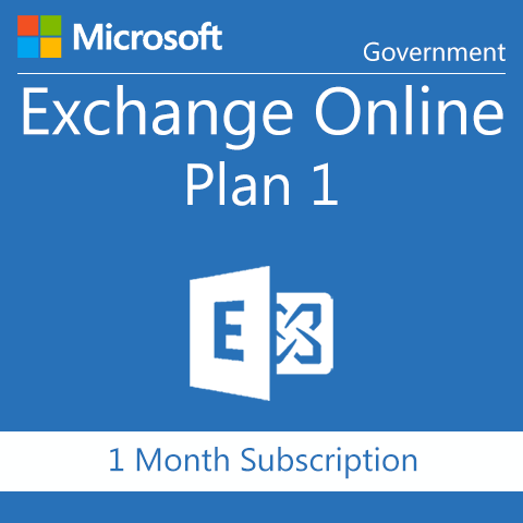 Microsoft Exchange Online Plan 1 - Government - Digital Maze