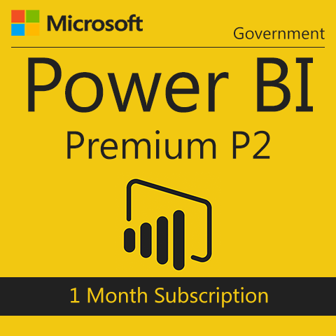 Microsoft Power BI Premium P2 - Government