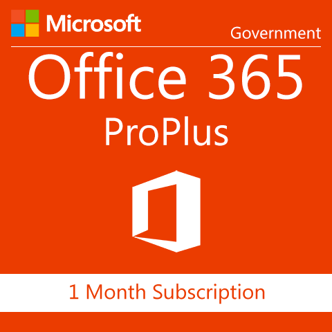Microsoft Office 365 ProPlus -  Government