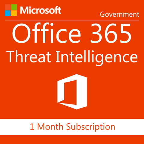 Microsoft Office 365 Threat Intelligence - Government