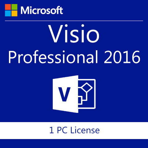 Microsoft Visio Professional 2016 - 64 bit Download
