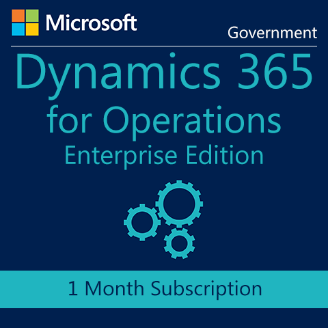 Microsoft Dynamics 365 for Operations, Enterprise Edition Device - Government - Digital Maze