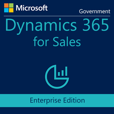 Microsoft Dynamics 365 for Sales, Enterprise Edition for CRM Online Pro add-on to Office 365 Users (Qualified Offer) - GOV - Digital Maze