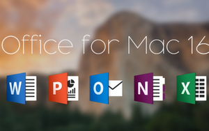 Microsoft Office For Mac Home & Business 2016 - Full Version - Digital Maze