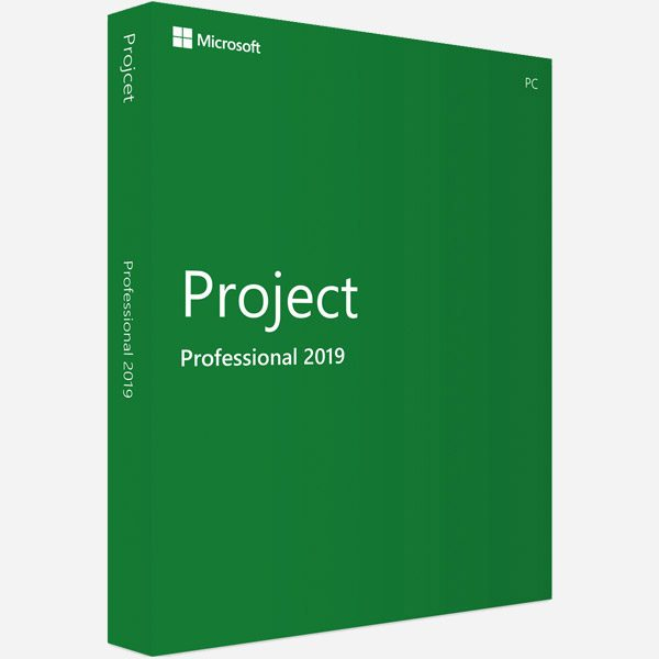 Microsoft Project Professional 2019 - Full Version
