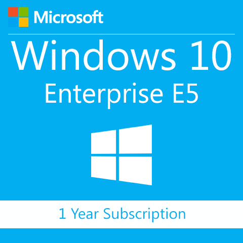 Microsoft Windows 10 Enterprise E5 with Advanced Threat Protection - 1 Year Subscription