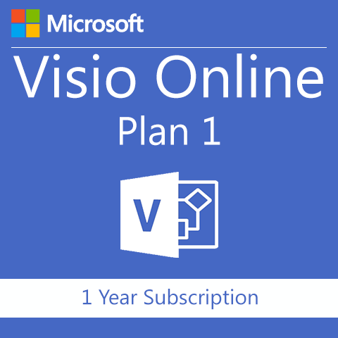 Microsoft Visio Online Plan 1 - Office 365 - Digital Maze