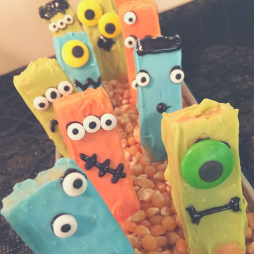 Vanilla Wafer Monsters