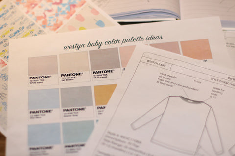Westyn Baby color Palette ideas