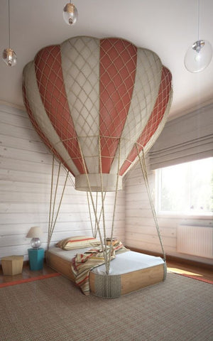 Unique kids' beds - Hot Air Balloon Bed for Boys