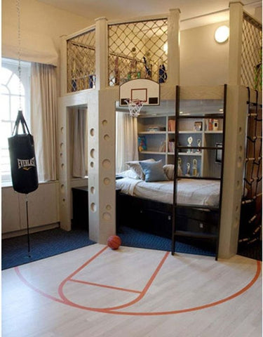 Incredible, unique kids' beds basketball bed