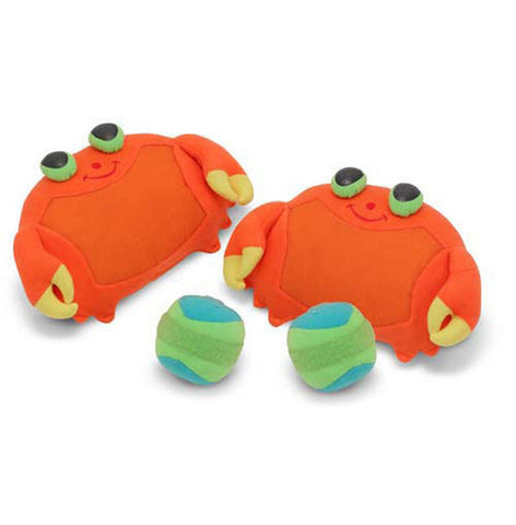 Toddler beach essentials clicker crab toss