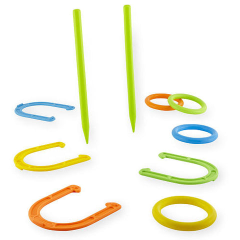 Toddler beach essentials horseshoe and ring toss