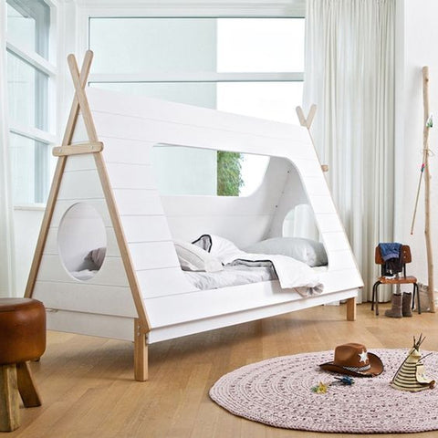 Unique kids' beds - teepee bed - gender neutral bed