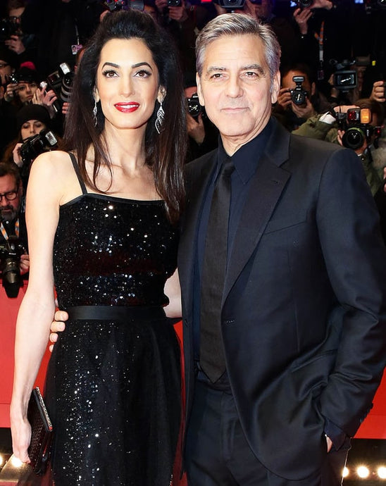 George and Amal Clooney Welcome Twins Daughter Ella and Son Alexander