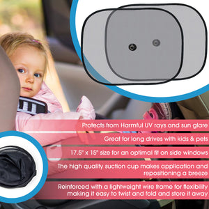 Car Window Sun Shade – 2 Pack