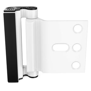 Home Security Door Lock, Aggrandize Your Door Reinforcement Lock From Unauthorized Entry, 2 Pack, White