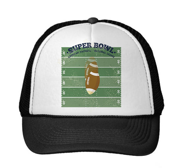 Super Bowl GO TRUCKER HAT