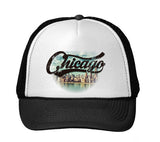 Chicago Skyline TRUCKER HAT