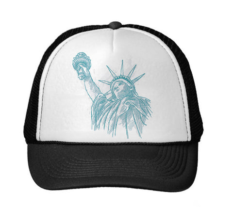 New York to be free TRUCKER HAT