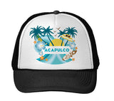 Acapulco Coconut Tree TRUCKER HAT
