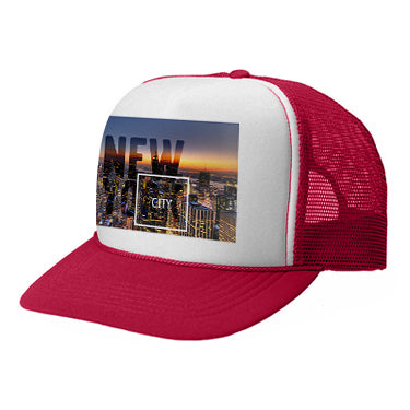 New York Twilight TRUCKER HAT